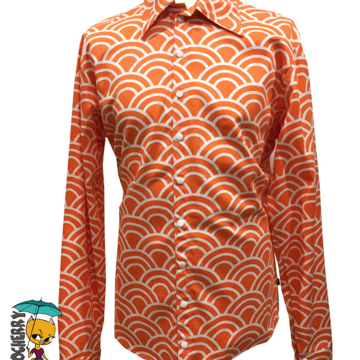 chemise écaille orange totocherry